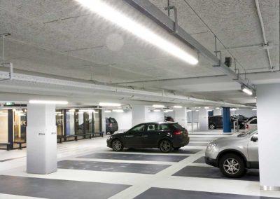 LED verlichting stand-alone armaturen IJdok Amsterdam