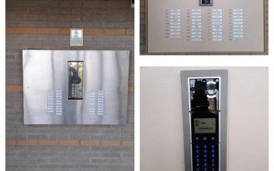 Intercom en bellentableau voor een VvE in Rotterdam